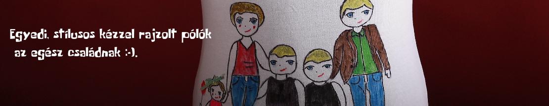 Egyedi, kézműves, kézzel festett pólók